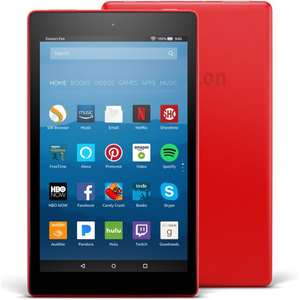 Amazon Fire HD 8 2017 16GB Punch Red with Alexa (7th Generation) - With Special Offers