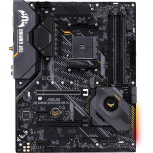 Asus TUF GAMING X570-PLUS (WI-FI) AMD AM4 X570 ATX Gaming Motherboard