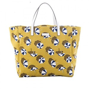 Gucci Parasol Print Canvas Large Tote Bag (Cardamom)