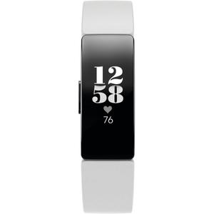 Fitbit Inspire HR Fitness Tracker -White/Black