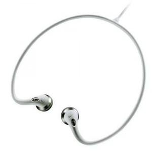 Philips Nike SHJ023 Lightweight Neckband Headphone (White)