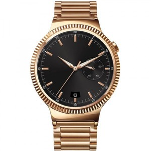Huawei Watch 42mm Smartwatch (Rose Gold Stainless Steel  Rose Gold Stainless Steel Link Band)