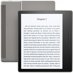 Amazon Kindle Oasis E-reader - 7 Waterproof 32GB Wi-Fi + Free Cellular Connectivity