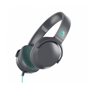 Skullcandy Riff On-Ear Headphones with Mic - Grey/Speckle/Miami