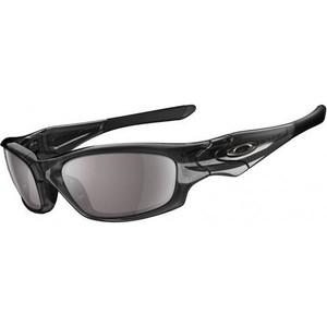 3be386cbdb Oakley Mens Straight Jacket (Asian Fit) Sunglasses Grey Smoke   Slate  Iridium