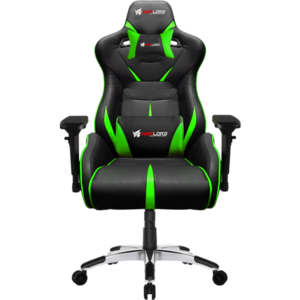 Warlord Templar Gaming Chair - Black/Green (HGT-WRD-GCH-006)