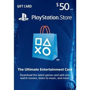 Sony PlayStation Store 50$ Gift Card - PS3/ PS4/ PS Vita PSN [Digital Code]