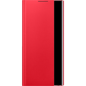 Samsung Galaxy Note 10 Clear View Cover Red