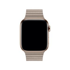 Apple 44mm Stone Leather Loop Band - Medium