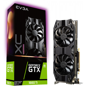 Evga Geforce Gtx 1660 Ti Xc Ultra Gaming Graphics Card