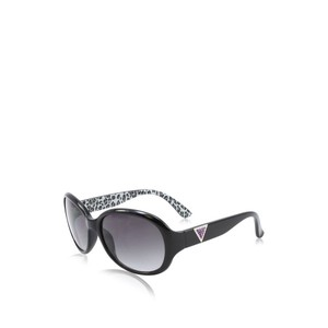 Guess Mens Sunglasses - 6647 / Frame: Clear with Tortoise Temples Lens: Brown with Bronze Mirror