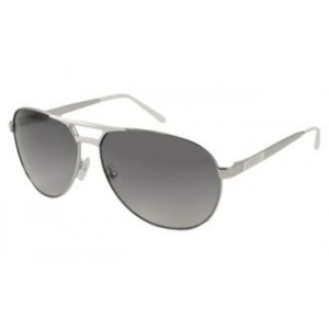 Guess Mens Sunglasses - 6712 / Frame: Silver Lens: Gray Gradient