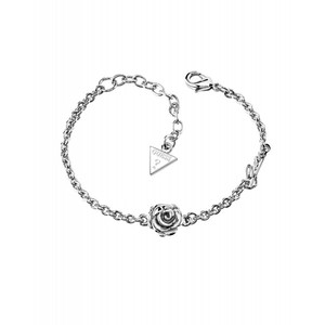 Guess Womens Rhodium Silver-plated UBB21524-L Bracelet