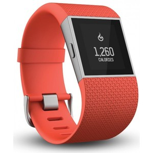 Fitbit Surge Fitness Superwatch Tangerine Large
