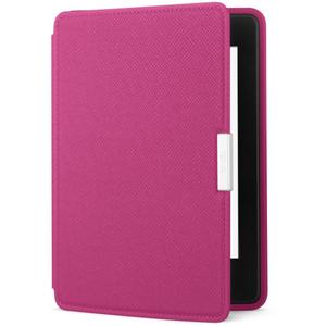 Amazon Kindle Paperwhite Leather Cover  Fuchsia