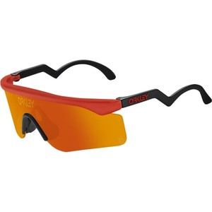 Oakley Razor Blade Heritage Collection Sunglasses Color Name: Red
