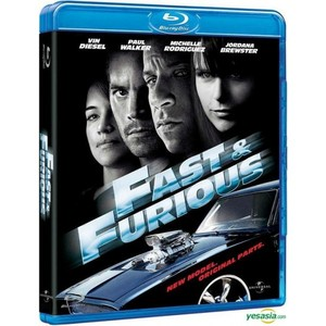 The Fast and the Furious Blu-ray Movie