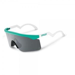 Oakley Razor Blade Heritage Collection Sunglasses Frame Color: Seafoam Lens Color: Grey