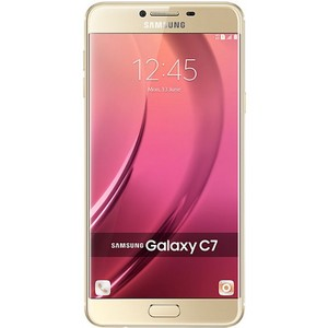 Samsung Galaxy C7 32GB Rom + 4GB RAM - Fingerprint Sensor Gold