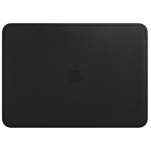 Apple Leather Sleeve for 13-inch MacBook Air and MacBook Pro - Black
