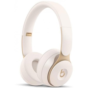 Beats Solo Pro Wireless Noise Cancelling On-Ear Headphones - Ivory