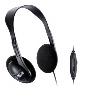 Pioneer Open air type dynamic stereo headphones black SE-A611TV