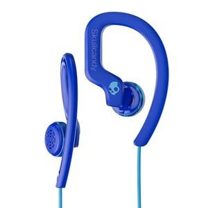 SkullCandy Chops Flex Sport Earbuds with Mic - Royal Blue/Swirl