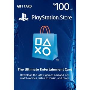 Sony PlayStation Store 100$ PSN Gift Card - PS3/ PS4/ PS Vita USA Region [Digital Code]