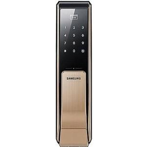 SAMSUNG Digital Smart Door Lock EZON SHS-P810 Electronic Keyless Push Pull type with 2 pcs key tags & emergency key