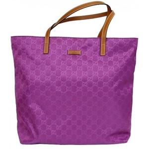 Gucci Purple Guccissima Nylon Handbag Tote Bag