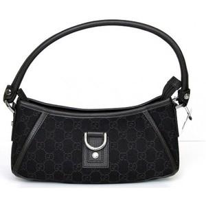 Gucci Brown Denim Abbey Hobo Bag Handbag
