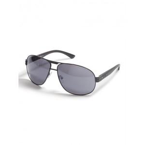 Guess Mens Two-Tone Aviator Sunglasses
