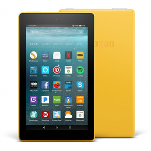 Amazon Fire 7 with Alexa 16GB (7th generation 2017) with Special Offers - Canary Yellow