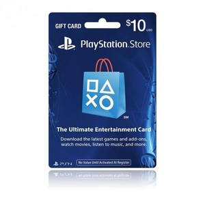 Sony PlayStation Store 10$ Gift Card - PS3/ PS4/ PS Vita PSN [Digital Code]