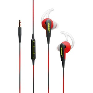 Bose SoundSport In-Ear Headphones-Apple Devices Power Red - 741776-0040
