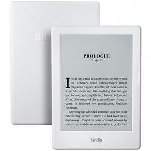 Amazon Kindle E-reader 6 Glare-Free Display Built-In Audible - Includes Special Offers - White