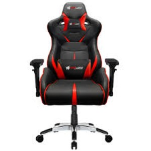 Fatal X Warcry Series PC Gaming Chair - Red/Black
