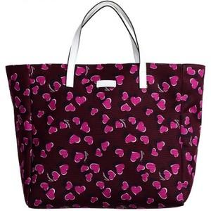 Gucci Womens Leather Trimmed Multi-Color Tote Shoulder Bag Handbag