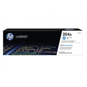 HP 204A Cyan Original LaserJet Toner Cartridge (CF511A)