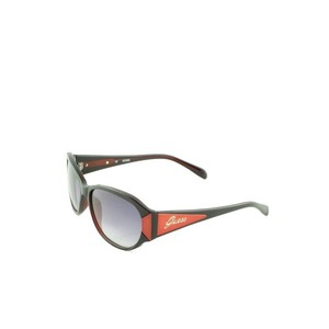 Guess 7054 Black/Red Mens Sunglasses