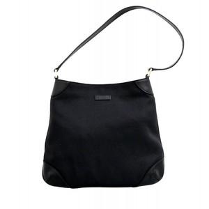 Gucci Canvas Black Capri Handbag Hobo Shoulder Bag