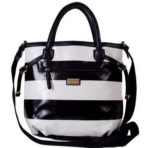 Tommy Hilfiger Womens CNV Shopper Tote Bag Handbag Purse