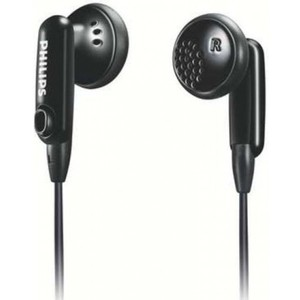 Philips SHE2634/27 Color Match In-Ear Headphone (Black)