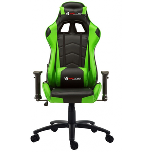 Warlord Huntsmen Gaming Chair - Black/Green (HTG-WRD-GCH015)
