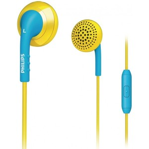 Philips SHE2675YB/28 In-Ear Headset (Yellow/Blue)