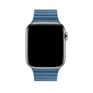 Apple 44mm Cape Cod Blue Leather Loop Band - Large