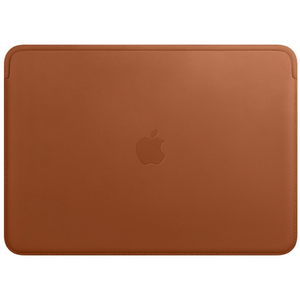 Apple Leather Sleeve for 13-inch MacBook Air and MacBook Pro - Saddle Brown
