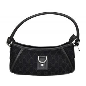 Gucci Abbey Brown Denim Hobo Bag Handbag