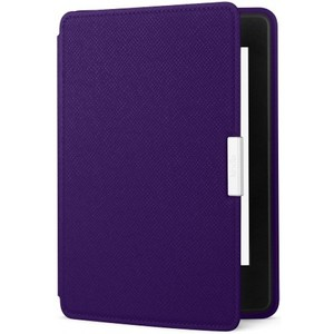 Amazon Kindle Paperwhite Leather Cover  Royal Purple