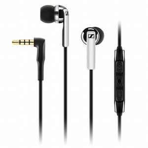 Sennheiser CX 2.00G Earbuds Headphones Integrated Mic (Black)